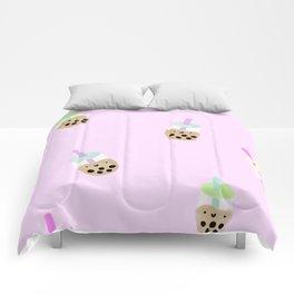 Boba Milk Tea Comforters