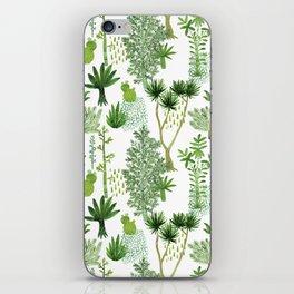 Green jungle pattern iPhone Skin