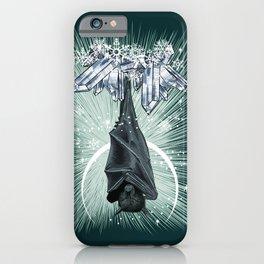 Sleepy Bat iPhone Case