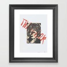 Thatcher Framed Art Print