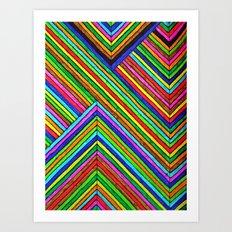 Line Away Art Print