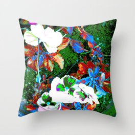 Vines of the Sole Throw Pillow