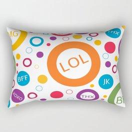 TXT ME Rectangular Pillow