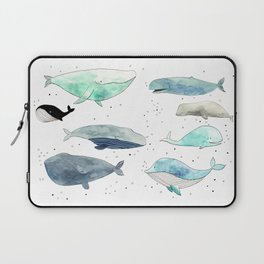 Blue whales Laptop Sleeve