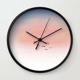 Above Them All Wall Clock