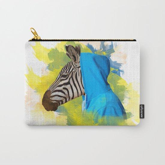 Gangsta Zebra Carry-All Pouch