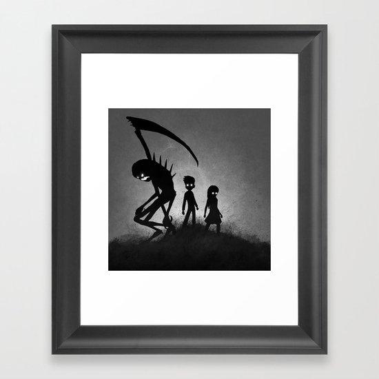 The Dream Is Over Framed Art Print