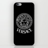versace iPhone & iPod Skins featuring Versace by Nestor2