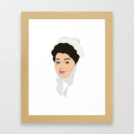 Carry on Hattie Jacques Framed Art Print