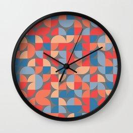 Quadrant Grid 1 Wall Clock