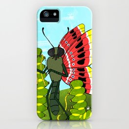 A Butterflys Metamorphosis iPhone Case
