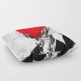 SPLASH SKULL Floor Pillow