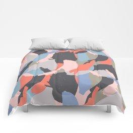 Modern abstract print Comforters