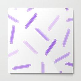 LINA ((the purples)) Metal Print