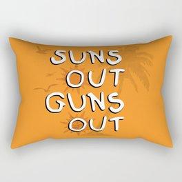 Suns Out Rectangular Pillow