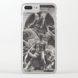 moabear Clear iPhone Case