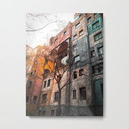 Hundertwasser 4 Metal Print
