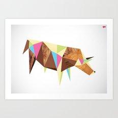Bull/Market Art Print