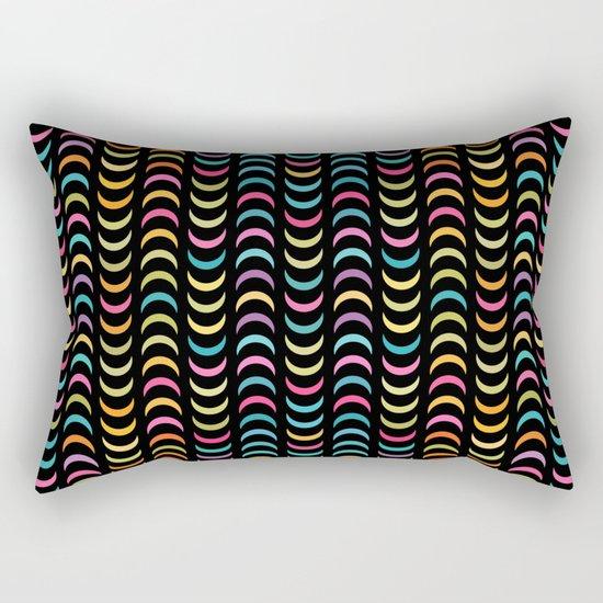 Lovely geometric Pattern VVIV Rectangular Pillow