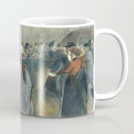 "Théophile Steinlen ""Le Bal Musette: The Dance"" Coffee Mug"