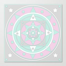 Love to my Love. Mandala Canvas Print