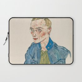 "Egon Schiele ""One-Year Volunteer Lance-Corporal"" Laptop Sleeve"