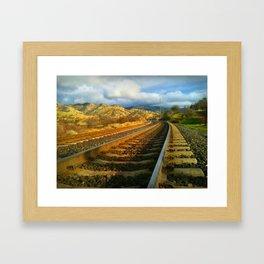 Tehachapi Loop, Tehachapi, CA Framed Art Print
