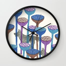 F and W Wall Clock