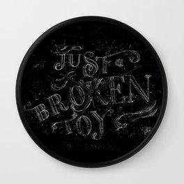 Just a broken toy Wall Clock