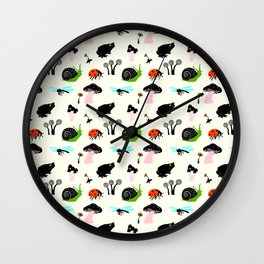 All Over Small Nature Wall Clock