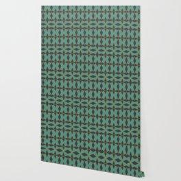 Mid Century Modern Diamonds #1 Wallpaper