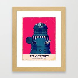 To Victory! Framed Art Print