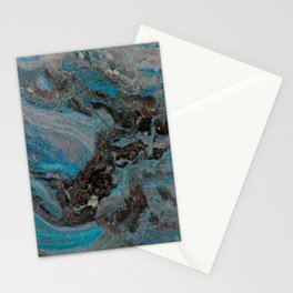 Marble, it is cool, aloof and especially elegant Stationery Cards