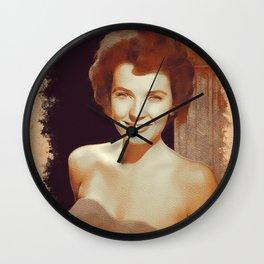 Polly Bergen, Hollywood Legend Wall Clock