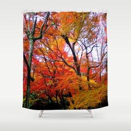 Autumn Fire #2 Shower Curtain