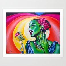 Billie Art Print