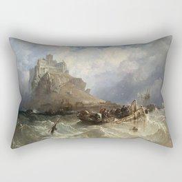 St Michael's Mount, 1830 Rectangular Pillow