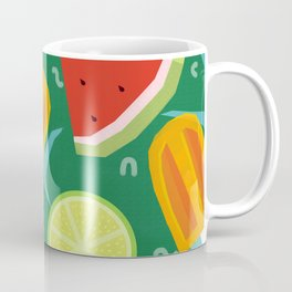 Watermelon, Lemon and Ice Lolly Coffee Mug