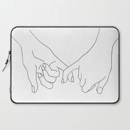 Pinky Promise Laptop Sleeve