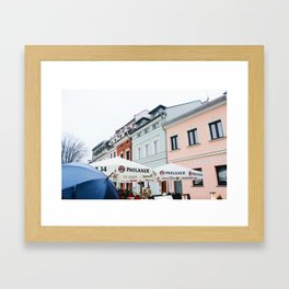 Krakow Square Framed Art Print