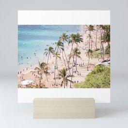 Hanauma Bay Hawaii Mini Art Print