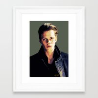 bill Framed Art Prints featuring Bill by Aubrey Meeks