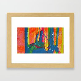 The Manipulation Of Paint #2 Framed Art Print
