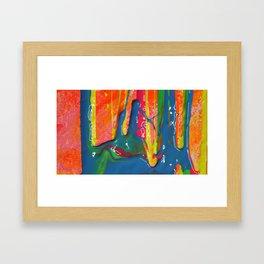 The Manipulation Of Paint #2 Framed Art Print