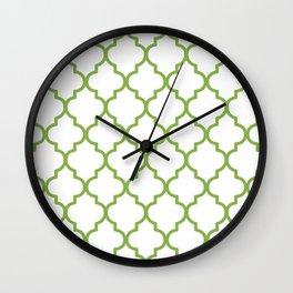 Pantone 2017, Greenery 1 Wall Clock