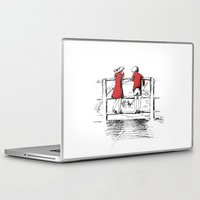 friendship Laptop & iPad Skins featuring Friendship by Ginta Spate
