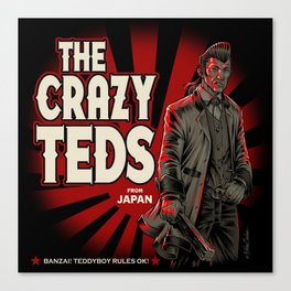 The Crazy Teds Canvas Print