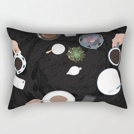 Coffee with friends - Aspen Co. Rectangular Pillow