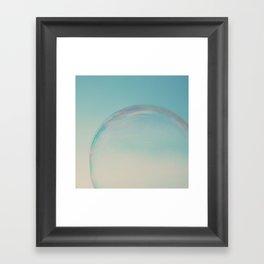 bubble 1 ... Framed Art Print