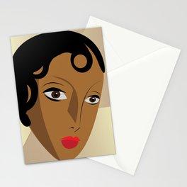 Art Deco Josephine Baker Stationery Cards